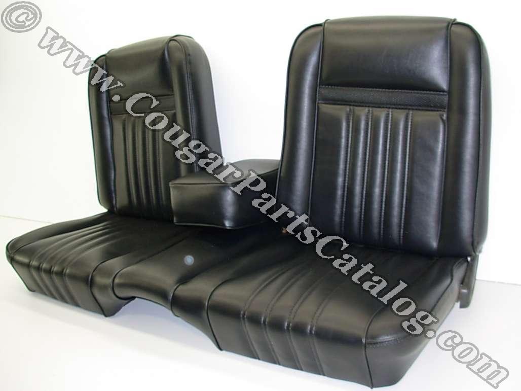 Vinyl interior upholstery saddle standard decor