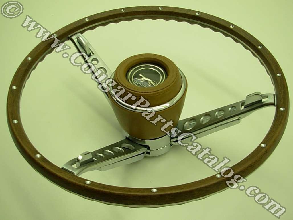 1967 Reproduction 3 Spoke Cougar Steering Wheels  Say What