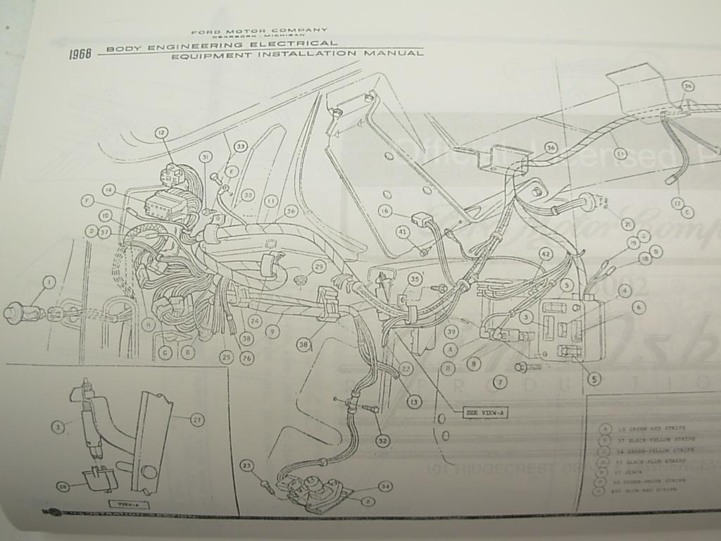 68 Cougar Haynes Repair Manual Wiring Diagrams 1968 Turn Harness Signal Xr7 Underdash Archive Clic Forums