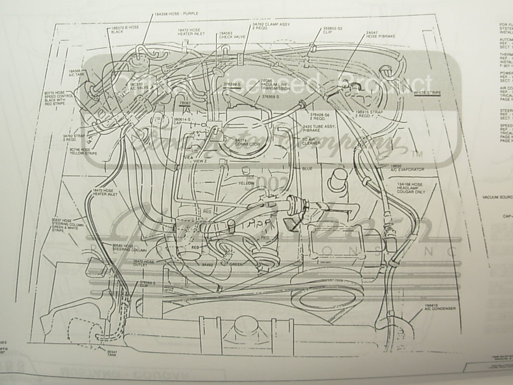 68 xr7 underdash wiring archive classic cougar forums