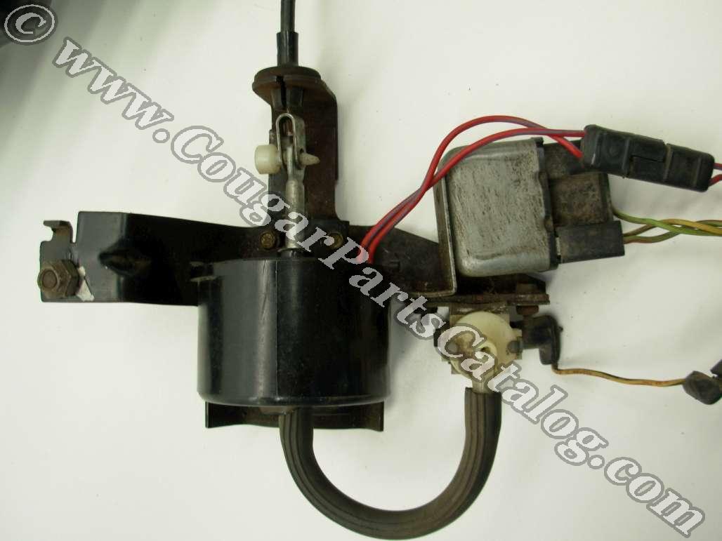 Steering Column - Tilt    Tilt Away   1968 Ford Mustang  15
