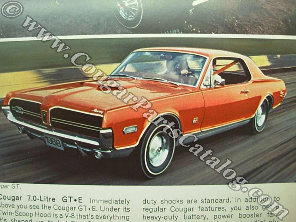 1968 Mercury Cougar / Full