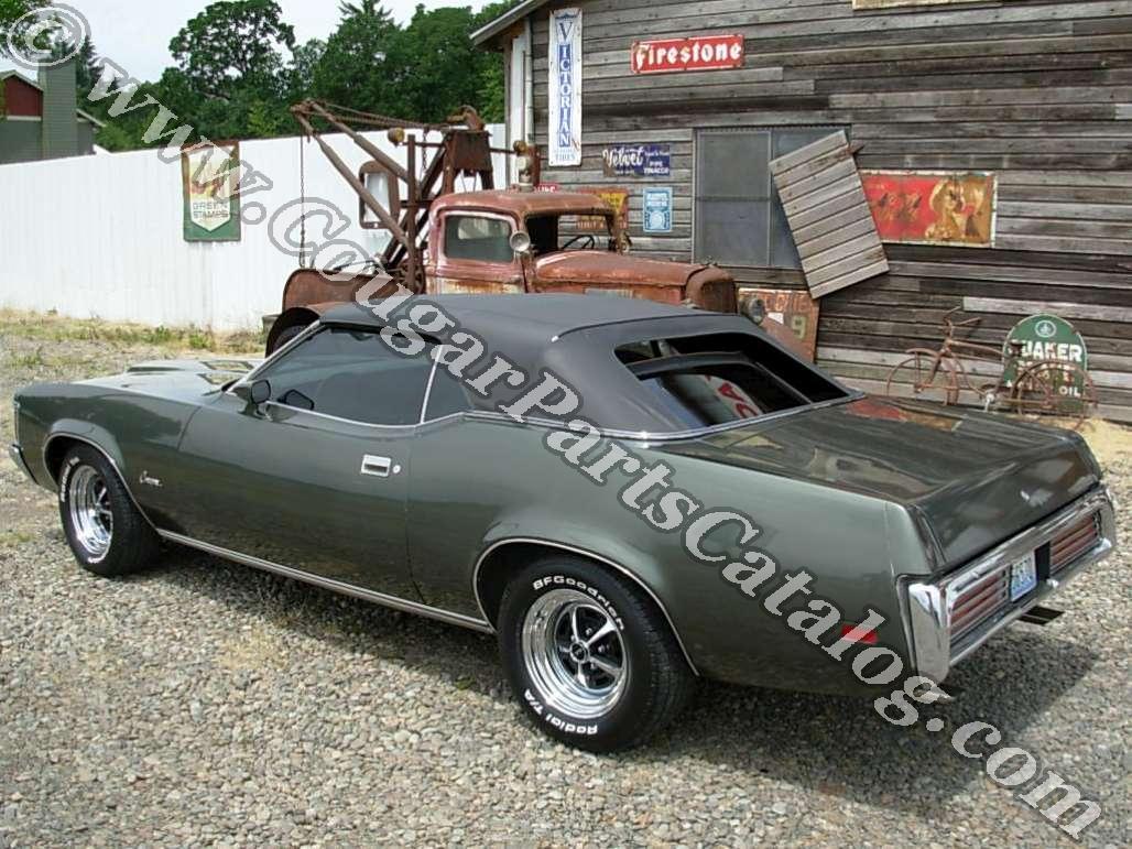 1967 - 1973 Mercury Cougar