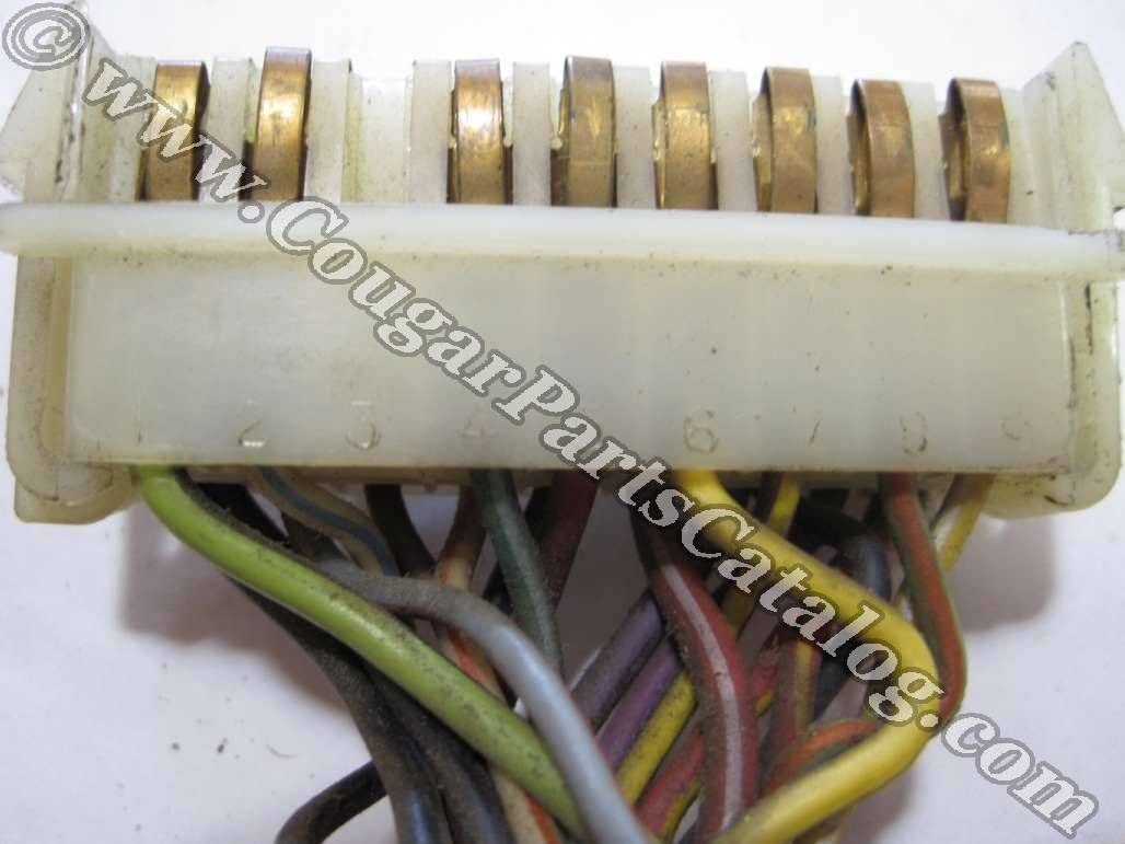 printed circuit board - red - xr7 - used