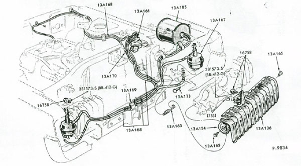 1970 cougar vacuum diagram  1970  free engine image for
