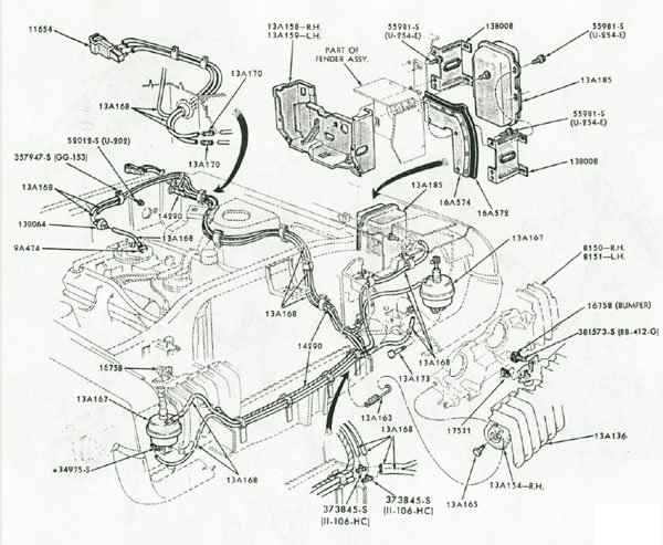 1969 mercury cougar vacuum diagram  1969  free engine