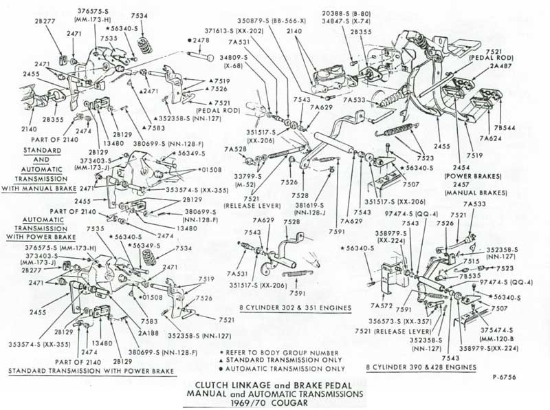 196919704 on gto steering column parts diagram